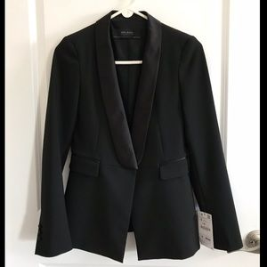 Zara Basic Collection Tuxedo Blazer sz Small